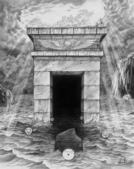 "Picture of David Herrerias ""Qliphoth´s gate"""